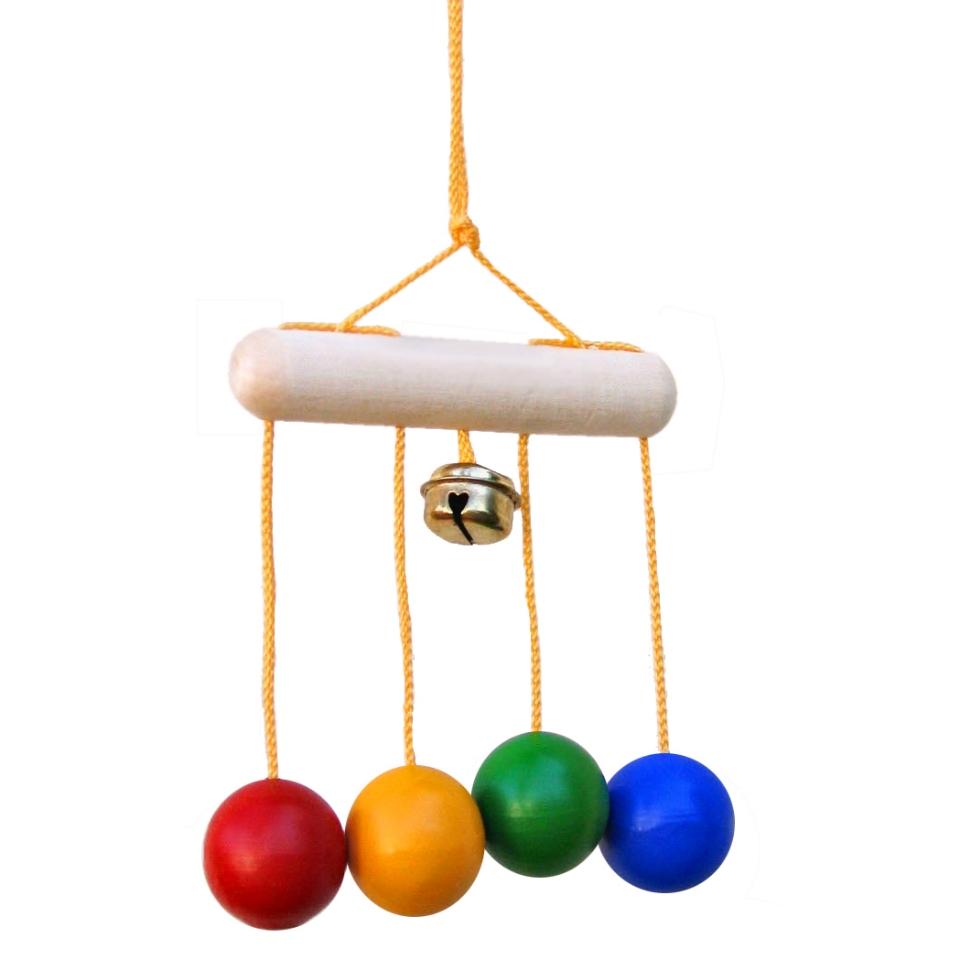 Игрушки из деревянных шариков своими руками